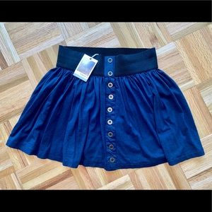 FOREVER 21 Navy Elastic Stretch Summer Skirt Small